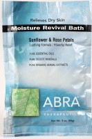 MOISTURE REVIVAL MINERAL BATH - Sunflowers & Rose Petals, Packet
