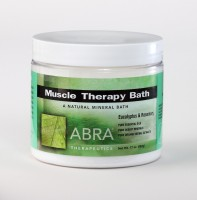 MUSCLE THERAPY MINERAL BATH - Eucalyptus & Rosemary, Jar