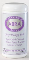 SLEEP THERAPY SEA SALT BATH - Mandarin & Neroli, Jar 20oz