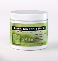 GREEN TEA MINERAL BATH - Green Tea & Lemongrass, Jar