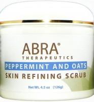 SKIN REFINING SCRUB - Peppermint & Oats 4.5oz