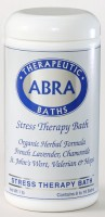 STRESS THERAPY SEA SALT BATH - Lavender & Chamomile, Jar 20oz