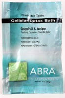 CELLULAR DETOX MINERAL BATH - Grapefruit & Juniper, Packet