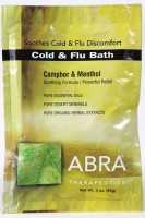 COLD AND FLU MINERAL BATH - Camphor & Menthol, Packet