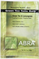 GREEN TEA MINERAL BATH - Green Tea & Lemongrass, Packet